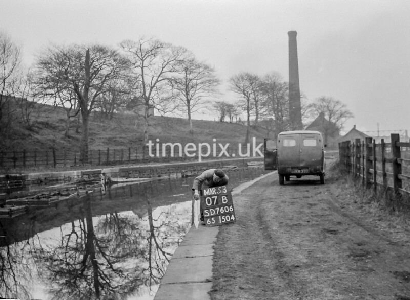 SD760607B, Ordnance Survey Revision Point photograph in Greater Manchester