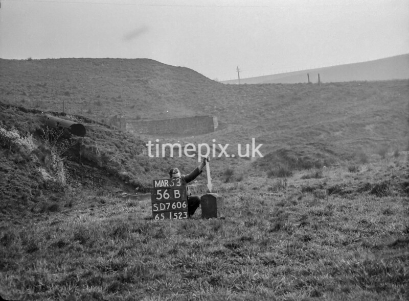 SD760656B, Ordnance Survey Revision Point photograph in Greater Manchester