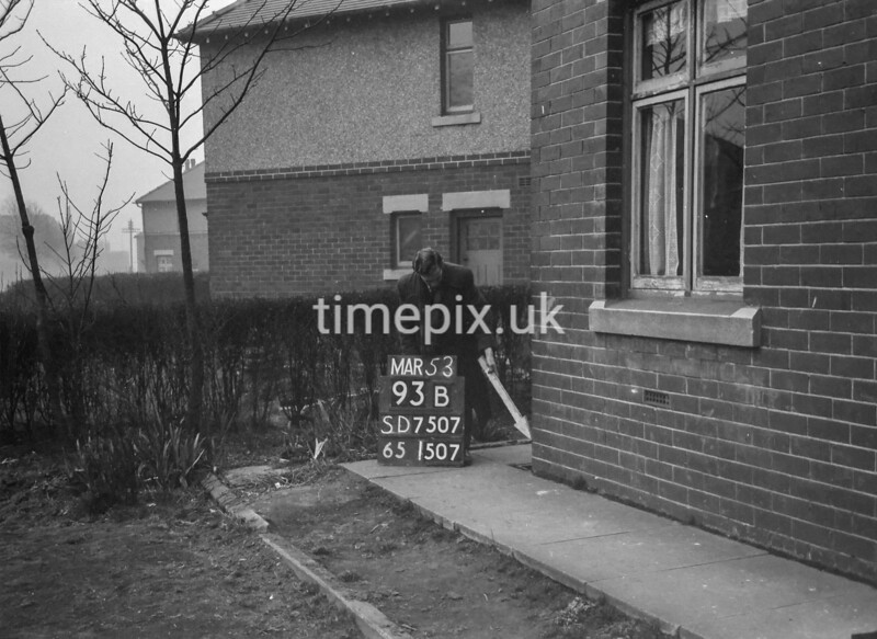 SD750793B, Ordnance Survey Revision Point photograph in Greater Manchester
