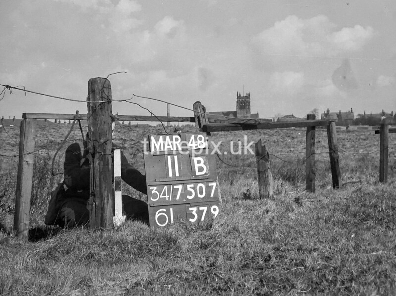SD750711B, Ordnance Survey Revision Point photograph in Greater Manchester