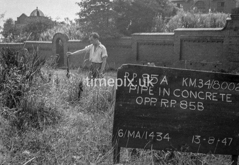 SD800285A, Ordnance Survey Revision Point photograph in Greater Manchester