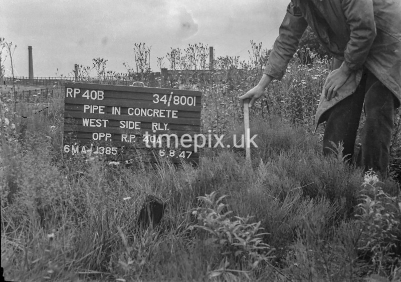SD800140B, Ordnance Survey Revision Point photograph in Greater Manchester