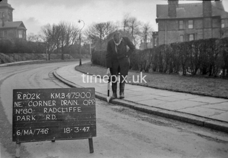 SD790002K, Ordnance Survey Revision Point photograph in Greater Manchester