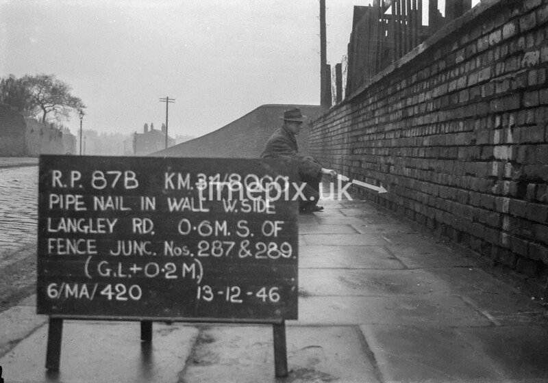 SD800087B, Ordnance Survey Revision Point photograph in Greater Manchester