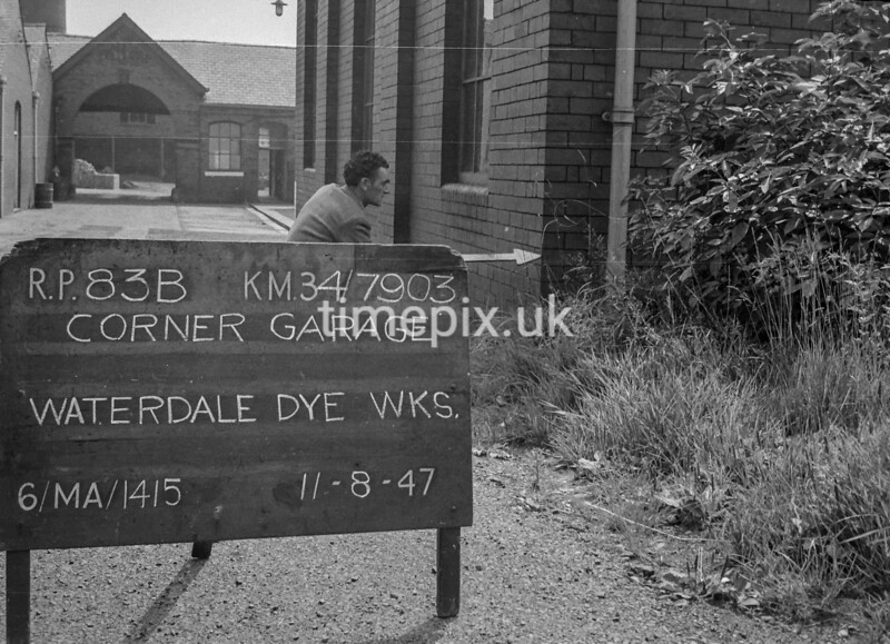 SD790383B, Ordnance Survey Revision Point photograph in Greater Manchester
