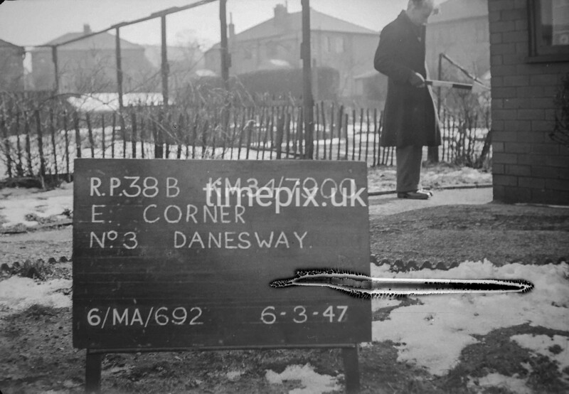 SD790038B, Ordnance Survey Revision Point photograph in Greater Manchester