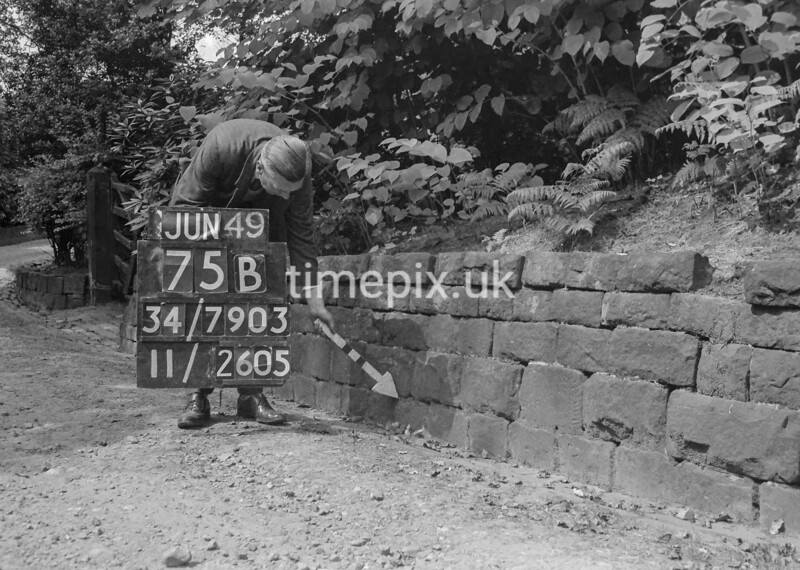 SD790375B2, Ordnance Survey Revision Point photograph in Greater Manchester
