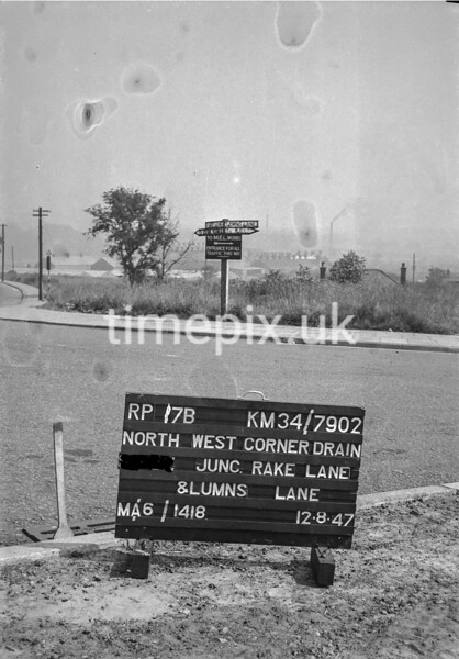 SD790217B, Ordnance Survey Revision Point photograph in Greater Manchester