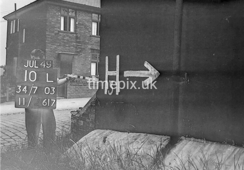 SD780310L, Ordnance Survey Revision Point photograph in Greater Manchester