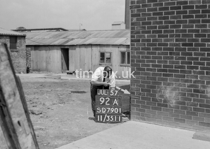 SD790192A, Ordnance Survey Revision Point photograph in Greater Manchester