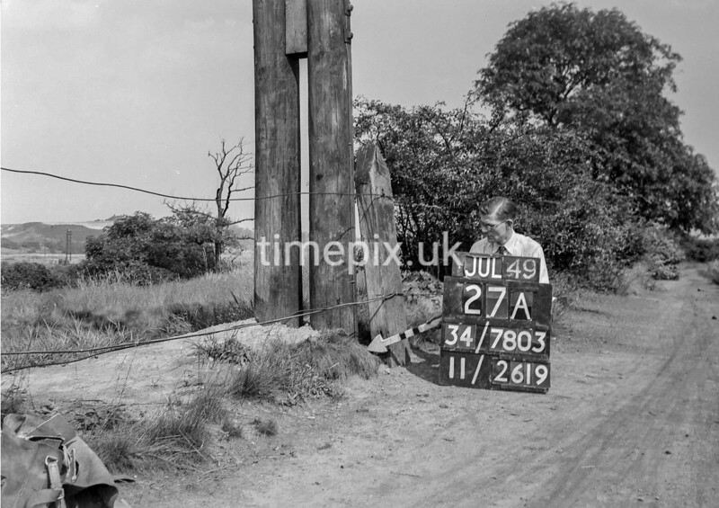SD780327A, Ordnance Survey Revision Point photograph in Greater Manchester
