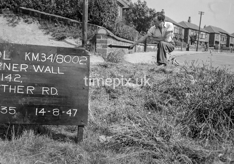 SD800269L2, Ordnance Survey Revision Point photograph in Greater Manchester