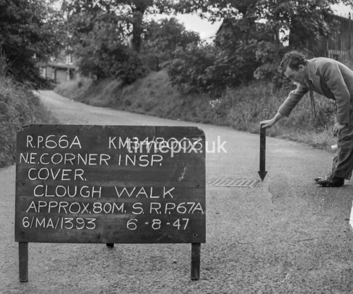 SD800366A, Ordnance Survey Revision Point photograph in Greater Manchester