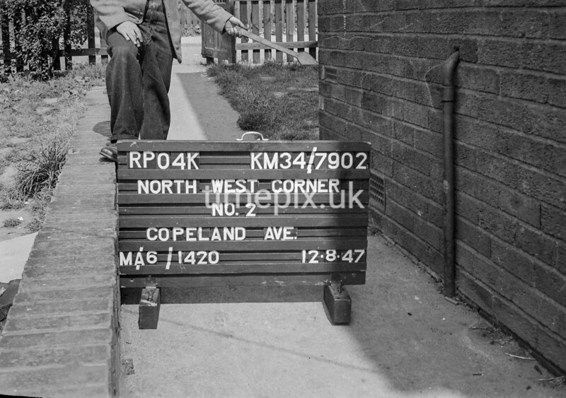 SD790204K, Ordnance Survey Revision Point photograph in Greater Manchester