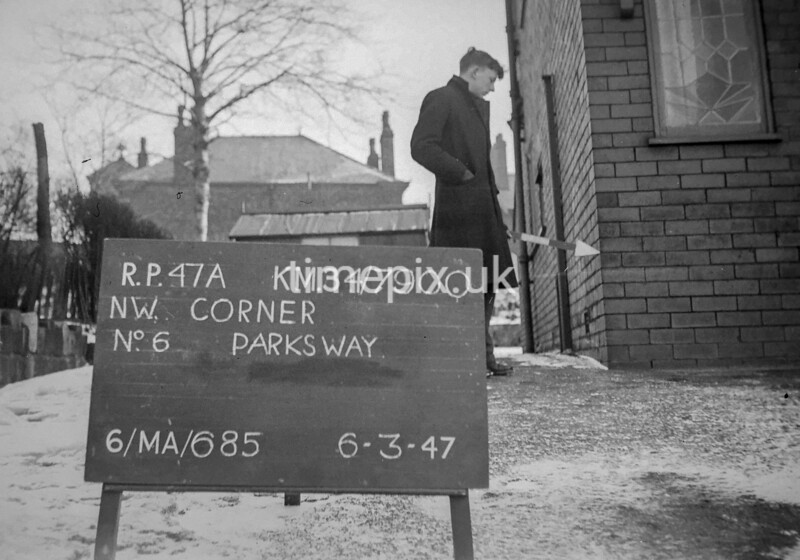 SD790047A, Ordnance Survey Revision Point photograph in Greater Manchester