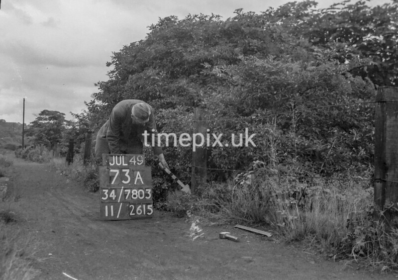 SD780373A, Ordnance Survey Revision Point photograph in Greater Manchester