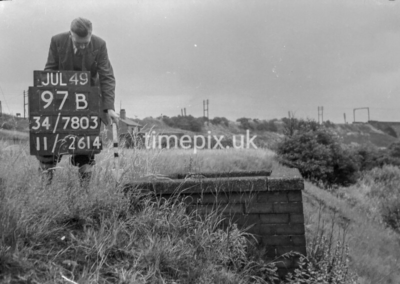 SD780397B, Ordnance Survey Revision Point photograph in Greater Manchester