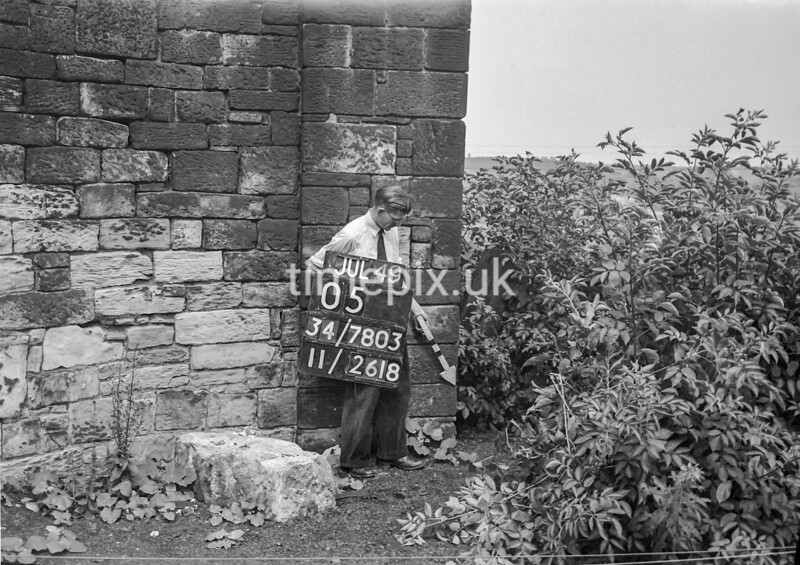 SD780305A, Ordnance Survey Revision Point photograph in Greater Manchester