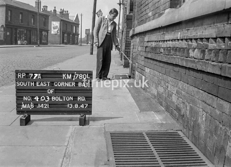 SD780177A, Ordnance Survey Revision Point photograph in Greater Manchester