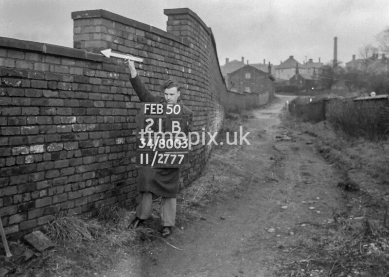 SD800321B, Ordnance Survey Revision Point photograph in Greater Manchester