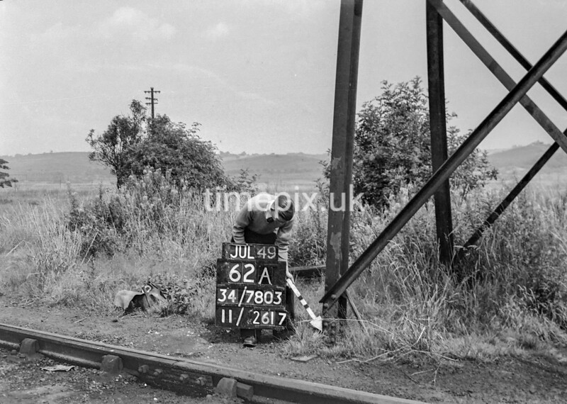 SD780362A, Ordnance Survey Revision Point photograph in Greater Manchester