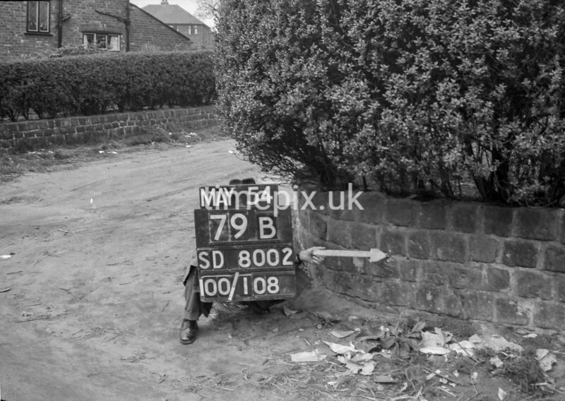 SD800279B, Ordnance Survey Revision Point photograph in Greater Manchester