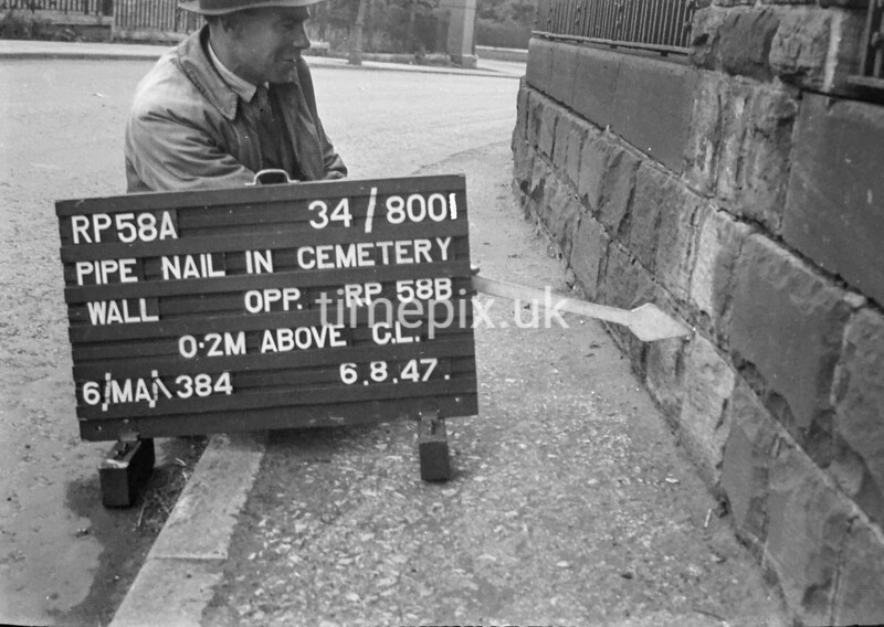 SD800158A, Ordnance Survey Revision Point photograph in Greater Manchester