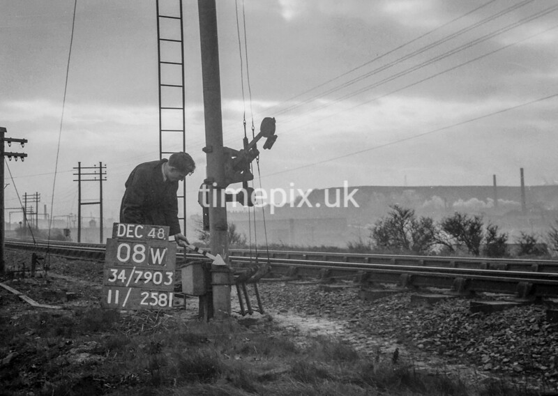 SD790308W, Ordnance Survey Revision Point photograph in Greater Manchester