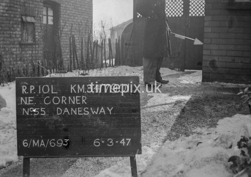 SD790110L, Ordnance Survey Revision Point photograph in Greater Manchester