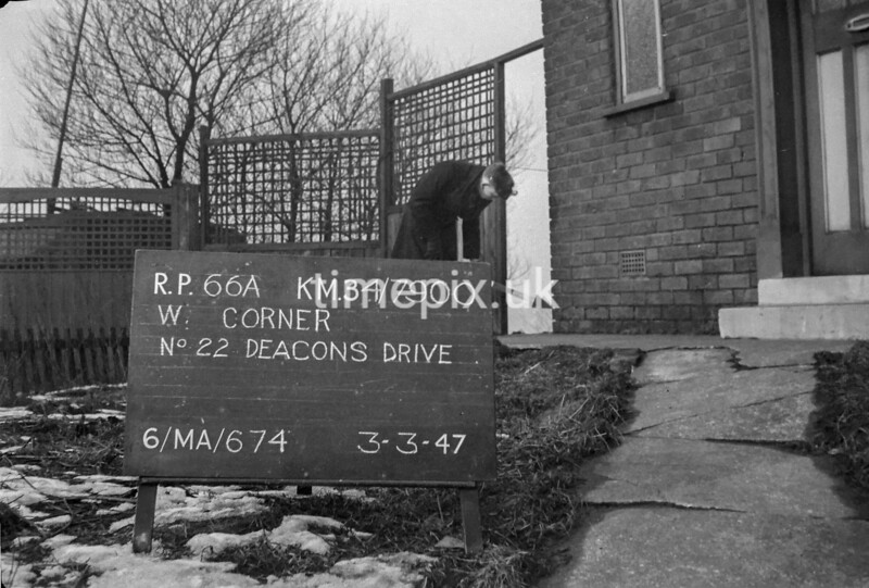 SD790066A, Ordnance Survey Revision Point photograph in Greater Manchester