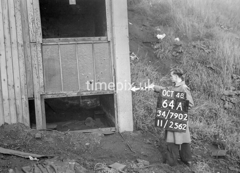 SD790264A, Ordnance Survey Revision Point photograph in Greater Manchester