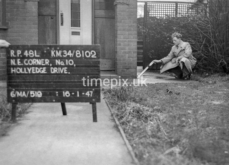 SD810248L, Ordnance Survey Revision Point photograph in Greater Manchester