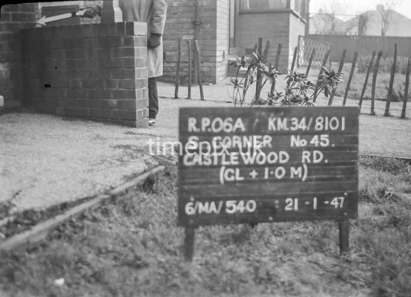 SD810106A, Ordnance Survey Revision Point photograph in Greater Manchester