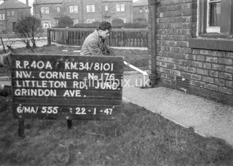 SD810140A, Ordnance Survey Revision Point photograph in Greater Manchester