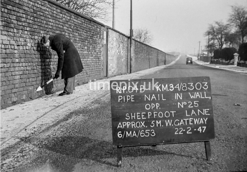 SD830304B, Ordnance Survey Revision Point photograph in Greater Manchester