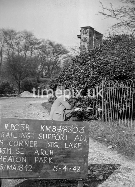 SD830305B, Ordnance Survey Revision Point photograph in Greater Manchester