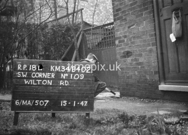 SD840218L, Ordnance Survey Revision Point photograph in Greater Manchester