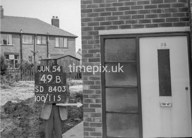 SD840349B, Ordnance Survey Revision Point photograph in Greater Manchester