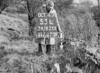 SD820153L, Ordnance Survey Revision Point photograph in Greater Manchester
