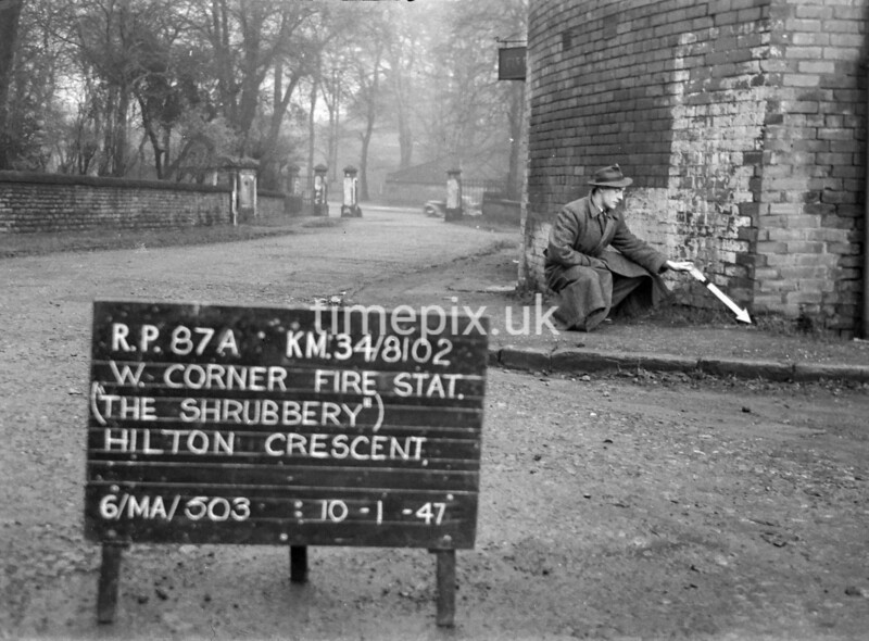 SD810287A, Ordnance Survey Revision Point photograph in Greater Manchester