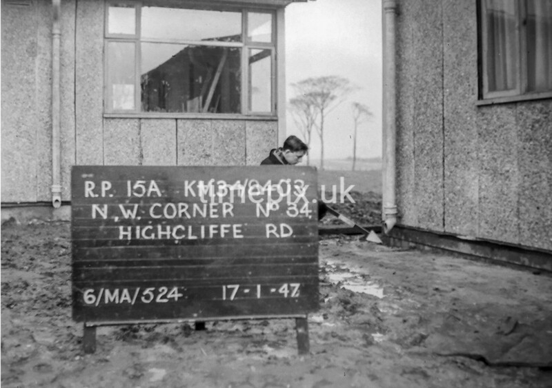 SD840315A, Ordnance Survey Revision Point photograph in Greater Manchester