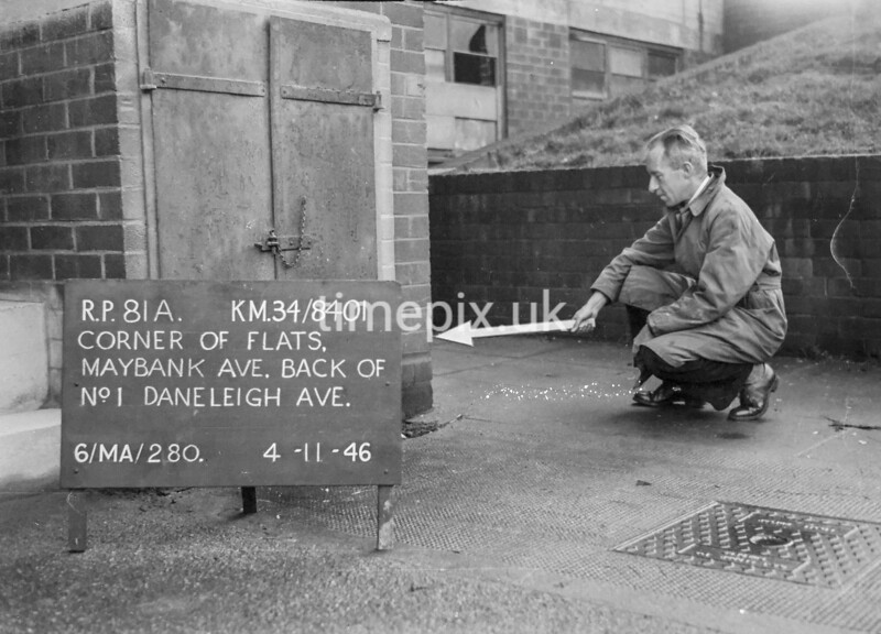 SD840181A, Ordnance Survey Revision Point photograph in Greater Manchester