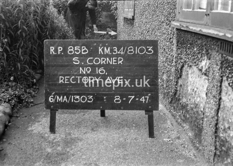 SD810385B, Ordnance Survey Revision Point photograph in Greater Manchester