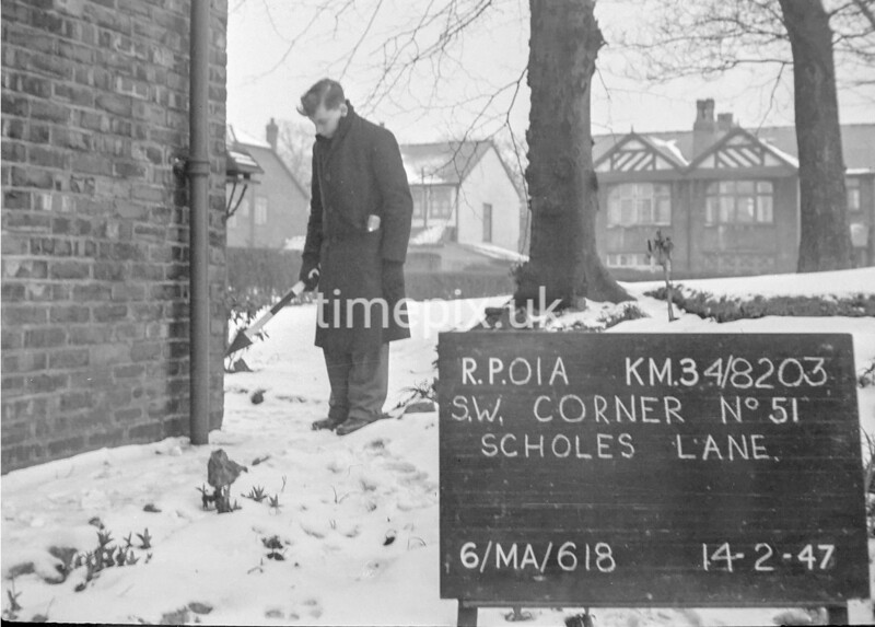 SD820301A, Ordnance Survey Revision Point photograph in Greater Manchester