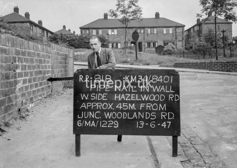 SD840181B, Ordnance Survey Revision Point photograph in Greater Manchester