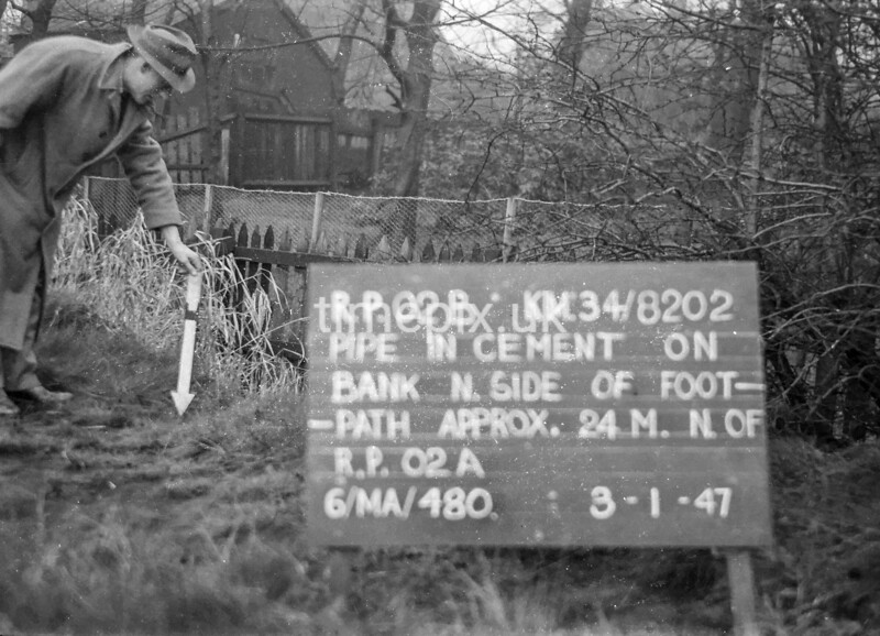 SD820202B, Ordnance Survey Revision Point photograph in Greater Manchester
