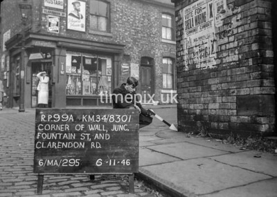 SD830199A, Ordnance Survey Revision Point photograph in Greater Manchester