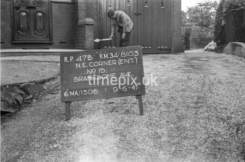 SD810347B, Ordnance Survey Revision Point photograph in Greater Manchester