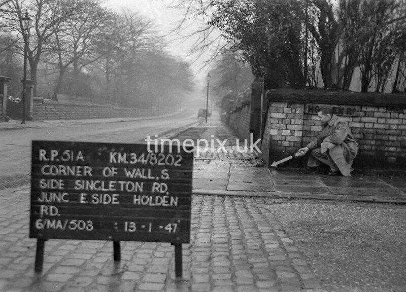 SD820251A, Ordnance Survey Revision Point photograph in Greater Manchester
