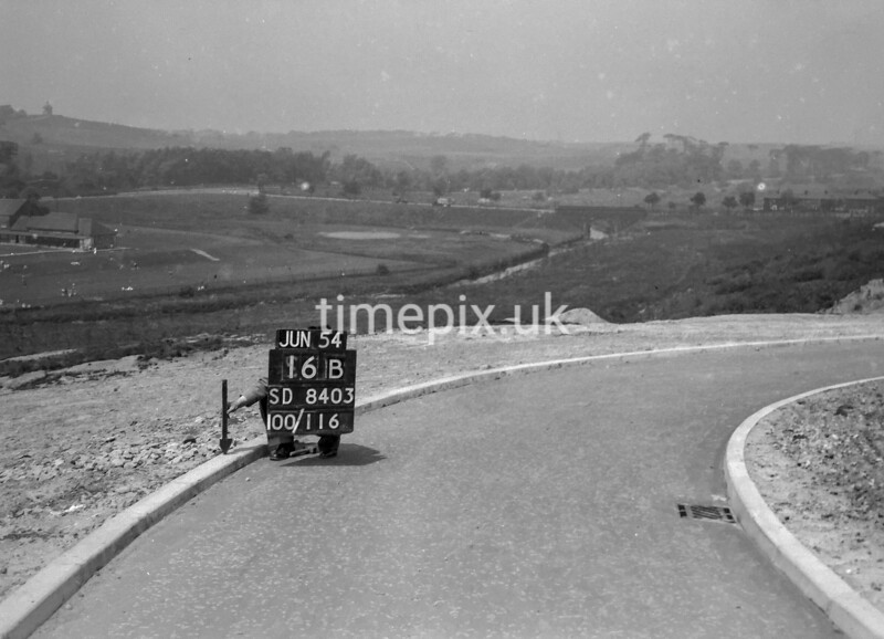 SD840316B, Ordnance Survey Revision Point photograph in Greater Manchester